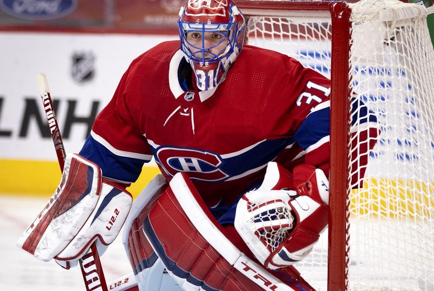 Carey Price has a 5-3-3 record with a 2.95 goals-against average and a .893 save percentage heading into Thursday's game against the Jets in Winnipeg.
