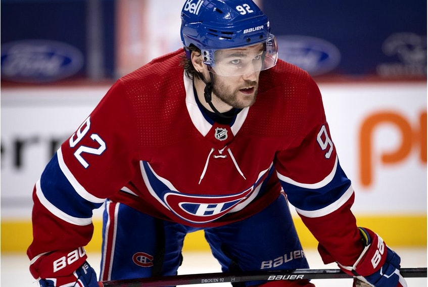 """""""We want to be the best team in our division,"""" the Canadiens' Jonathan Drouin says. """"That's part of the expectation we have as a team."""""""