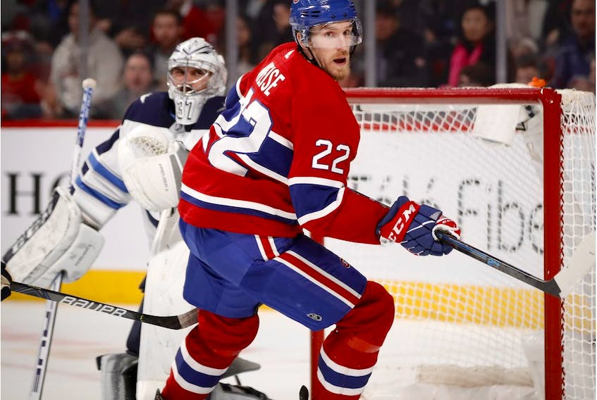 In 14 games with the Canadiens this season, Dale Weise has 1-3-4 totals and 16 penalty minutes — including two fights — and has earned a regular spot on the fourth line.