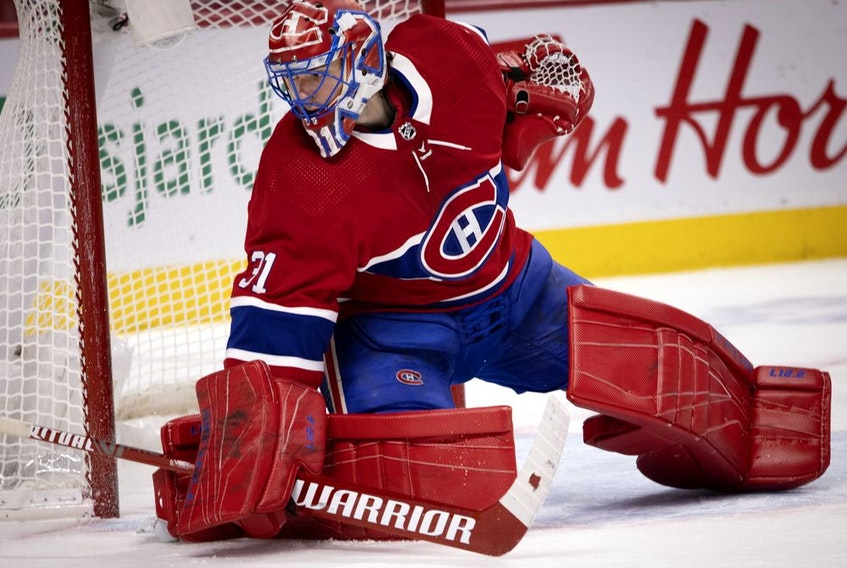Canadiens goalie Carey Price has a 6-4-3 record with a 2.96 goals-against average and a .893 save percentage heading into Saturday night's game against the Winnipeg Jets at the Bell Centre.