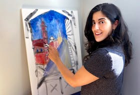 Gabriella Rizkallah is creating a vibrant art piece to auction for Beirut explosion relief and is calling on artists to join her. Rizkallah has extended family who were affected by the blast.