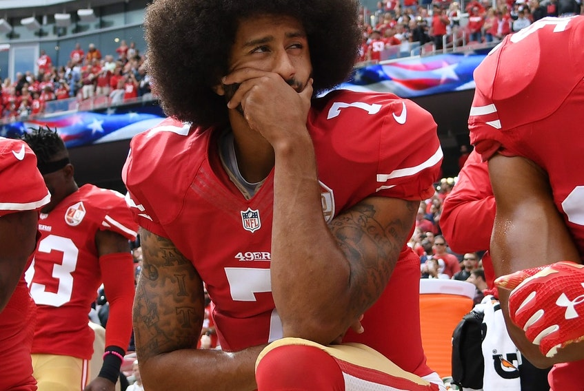 It has been four years since Colin Kaepernick started his protest by kneeling during the U.S. National Anthem.