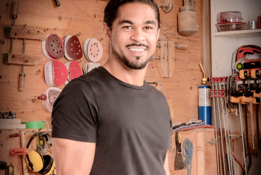 Former CFL player turned handyman and HGTV star Sebastian Clovis was first introduced to carpentry and building when he was 15.