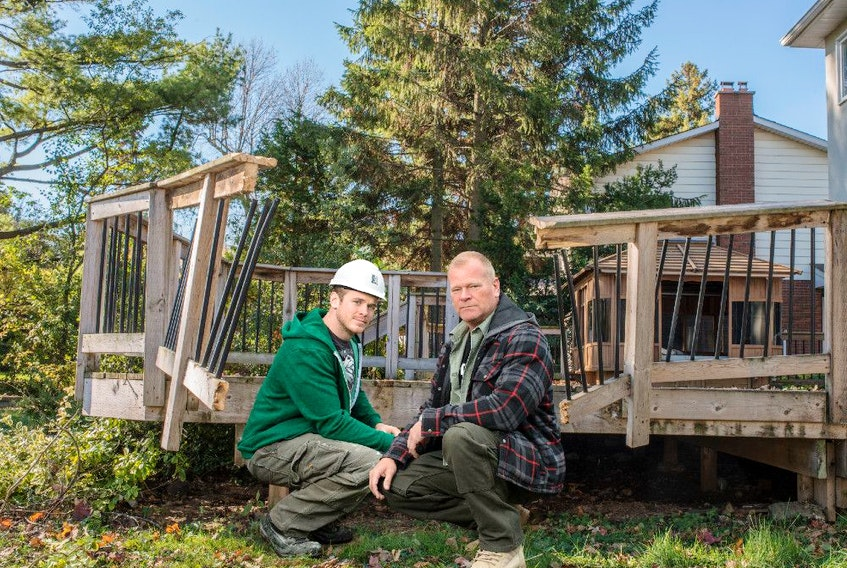 A deck needs to be built to code, and properly inspected to ensure that it's always safe to use, Mike Holmes advises.