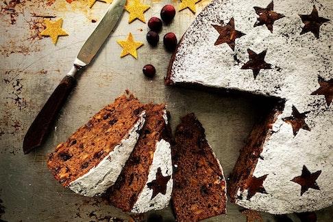 Chocolate and Cherry Fruitcake
