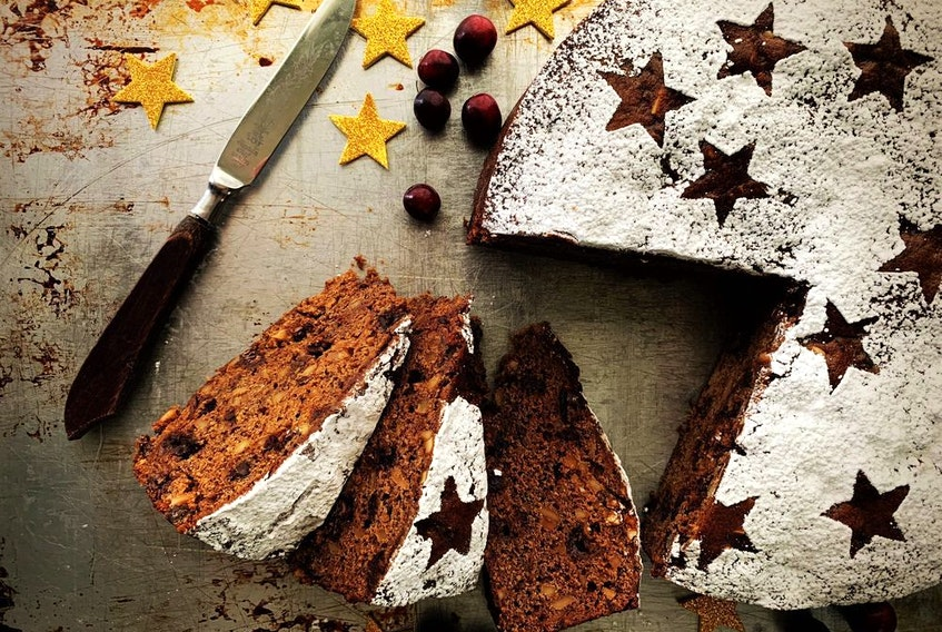 Chocolate and Cherry Fruitcake