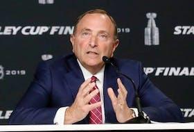 Commissioner Gary Bettman of the National Hockey League