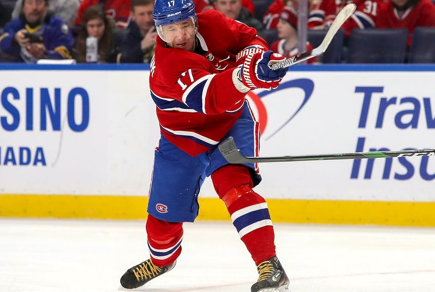 After picking up 12 points (six goals and sis assists) in his first 15 games with the Canadiens, Ilya Kovalchuk has gone six games without a point.