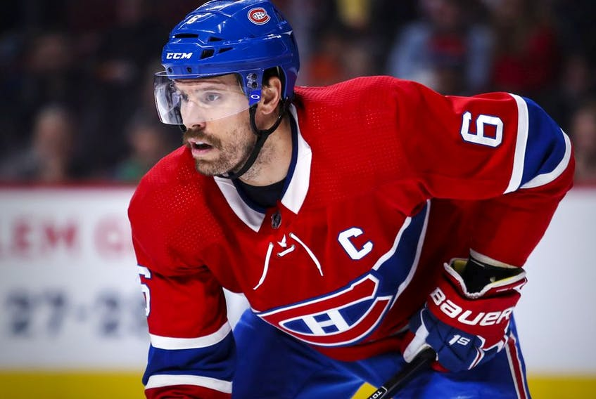 Canadiens captain Shea Weber is one of 19 players who have been skating this week at the Bell Sports Complex in Brossard.
