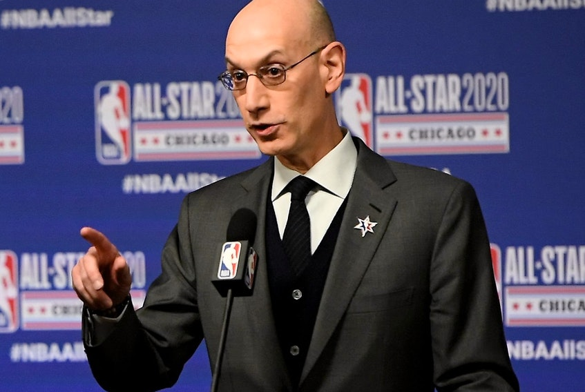 NBA Commissioner Adam Silver felt is was best for the league to have the all-star game this weekend.