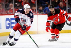 """""""I'm going to be the best player I can be, the best teammate I can be (and) the best person I can be,"""" says Pierre-Luc Dubois, who is hoping to get traded by the Columbus Blue Jackets."""