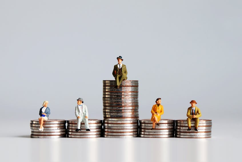 Wealth gap and income inequality