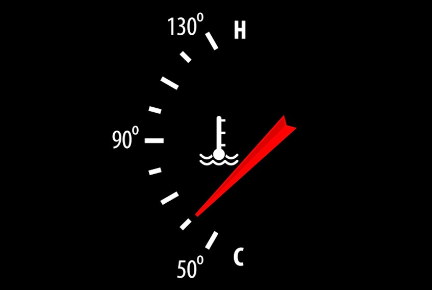 engine temperature 123RF