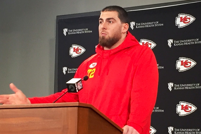 Chiefs left tackle Eric Fisher was released by the team on Thursday.