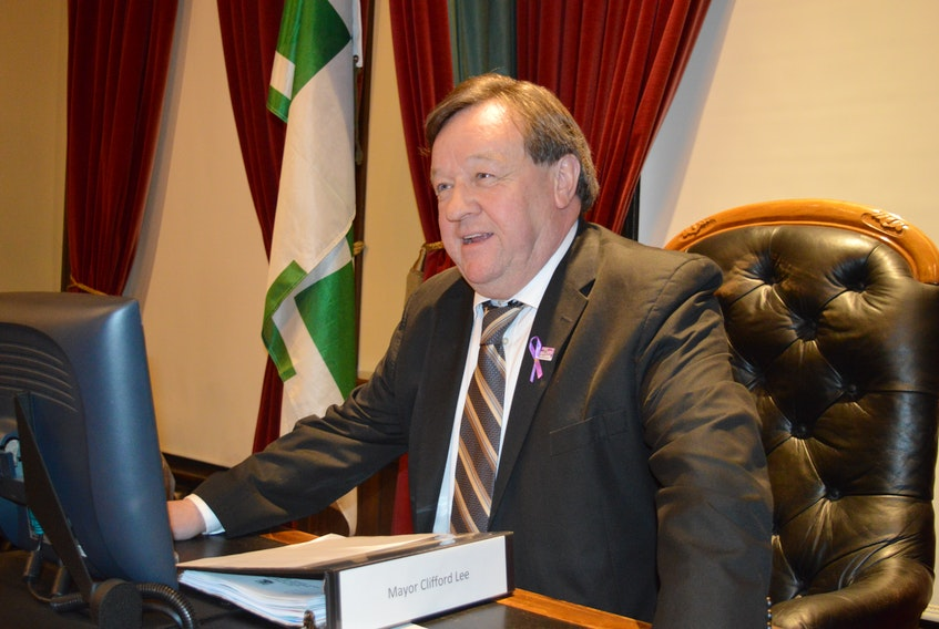 It doesn't happen very often but Charlottetown Mayor Clifford Lee was forced to cast the deciding vote Monday night over a cosmetic pesticide issue. He voted in favour of maintaining the $50 surcharge and exemption to the bylaw clause.