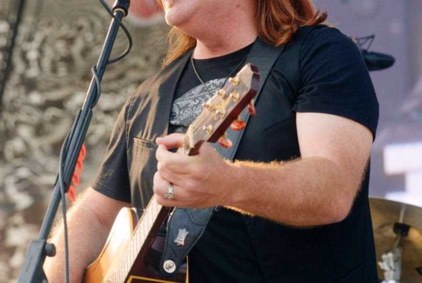 Alan Doyle performs at the 2015 Cavendish Beach Music Festival