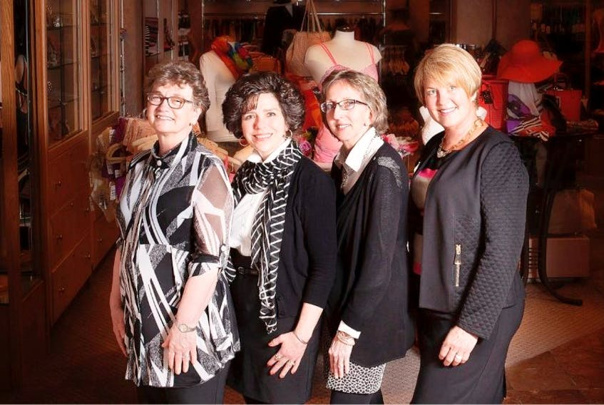 Lady Slipper staff, from left, Florence Drake, Coleen Kelly, Rita Ramsay and Debbie Matthews.