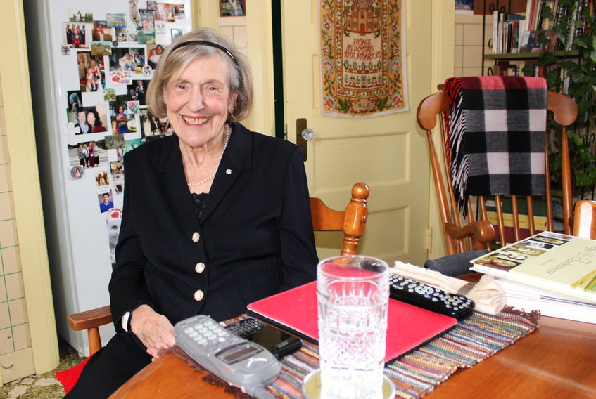 Despite having had a stroke in 2015, former Sackville doctor and politician Marilyn Trenholme Counsell continues to stay involved in a number of causes that have an impact on New Brunswickers. At 85, Trenholme Counsell still retains a number of appointments and serves on several boards and fundraising campaigns involving literacy, education, and early childhood education. She still lives at her home at 42 York Street in Sackville, the same house she moved into in 1977 when she moved back from Toronto to start a family practice.