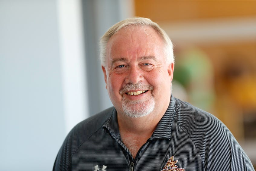 Norval McConnell has accepted the position of chair of the 2018 CCAA women's basketball nationals, which are being hosted by Mount Allison University March 14-18, 2018. PHOTO SUBMITTED