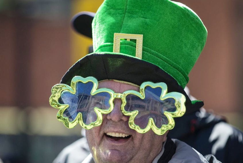 Toronto Sun file photo. A St. Patrick's Day Parade participant in Toronto.