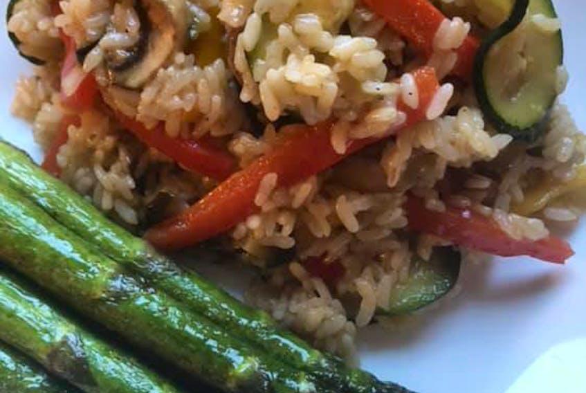 Sam's Favourite Veggies Rice