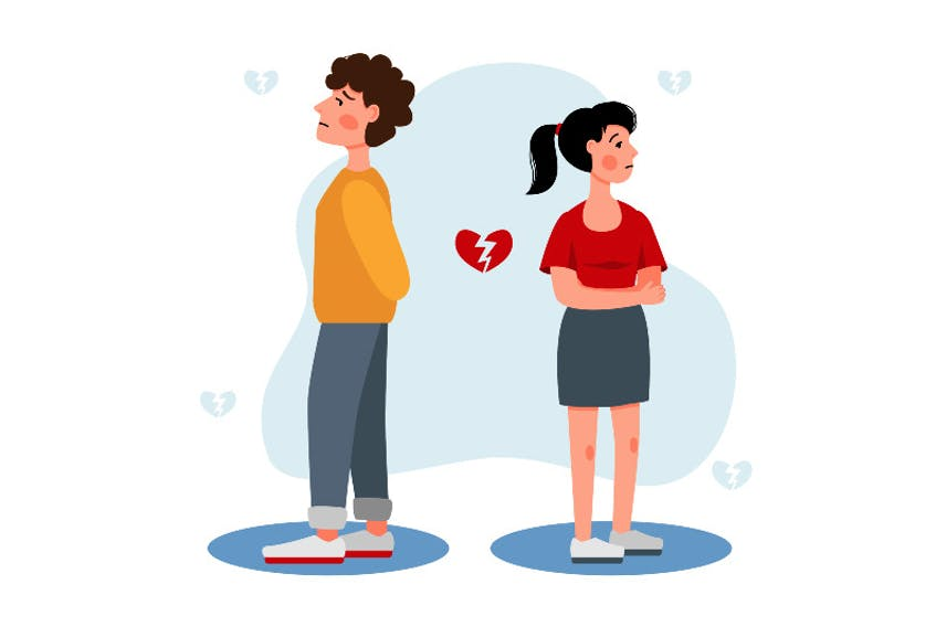 Validate your teenager's hurt feelings after a first breakup. Stay understanding and comforting but seek counselling help if signs of depression persist.