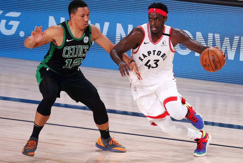 Raptors' Pascal Siakam received much criticism after the team's loss to Boston.