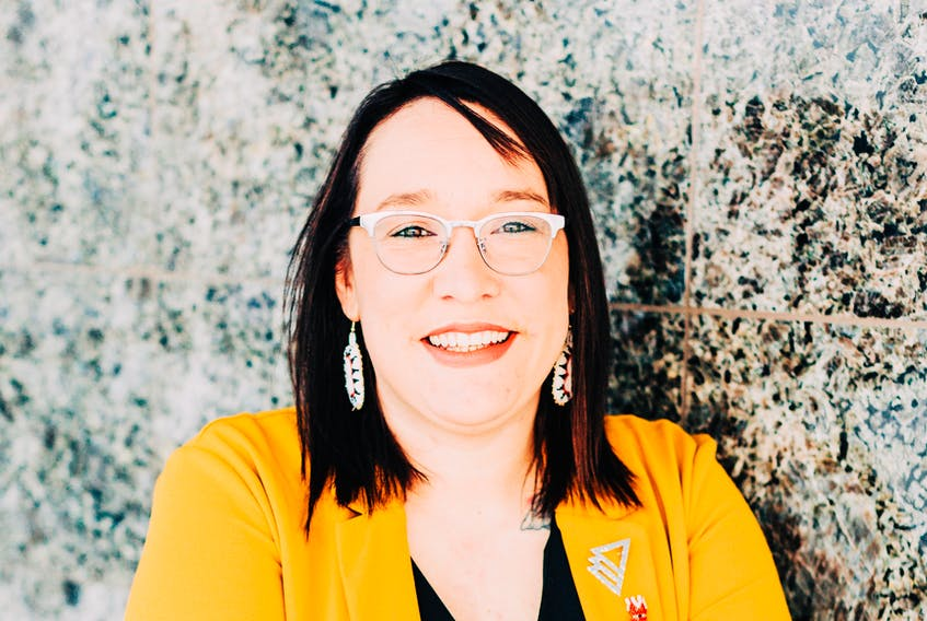 Jenelle Duval is a member of Eastern Owl and the arts and culture co-ordinator for the St. John's non-profit group First Light. — MADDIE MILLS PHOTO