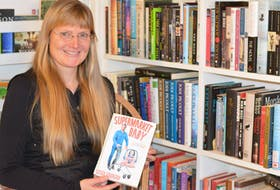 """St. John's author Susan Flanagan has two books coming out this year including her novel, """"Supermarket Baby."""" BARB SWEET/THE TELEGRAM"""