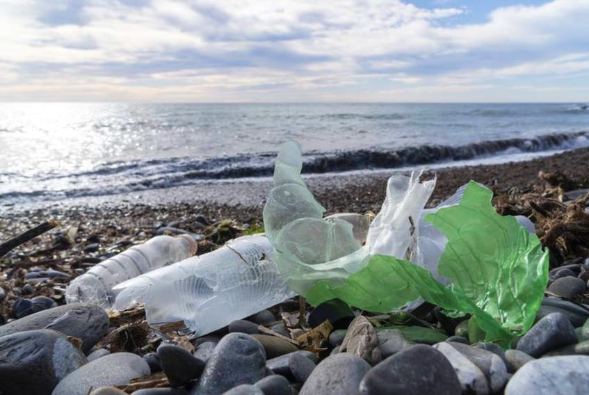 A new report from the Multi-Materials Stewardship Board suggests there are 200 pieces of litter for every person in the province. — Stock photo