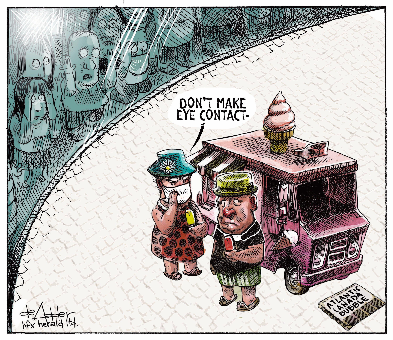 Michael de Adder's editorial cartoon for September 15, 2020