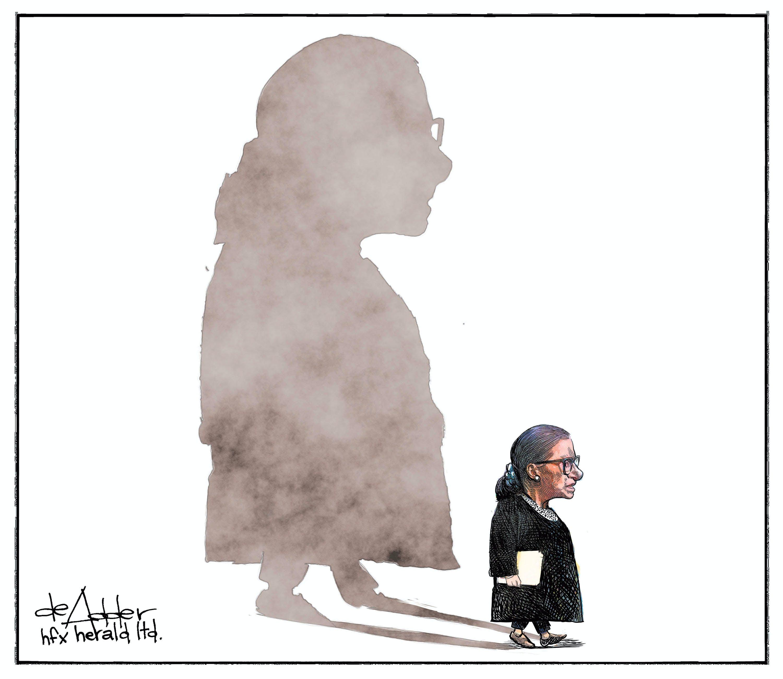 Michael de Adder's editorial cartoon for Sept. 22, 2020.
