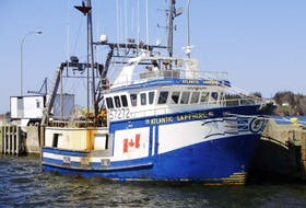 The Atlantic Sapphire dragger sank in 2018. Its crew was rescued. PHOTO FROM SHIPSPOTTING.COM WEBSITE