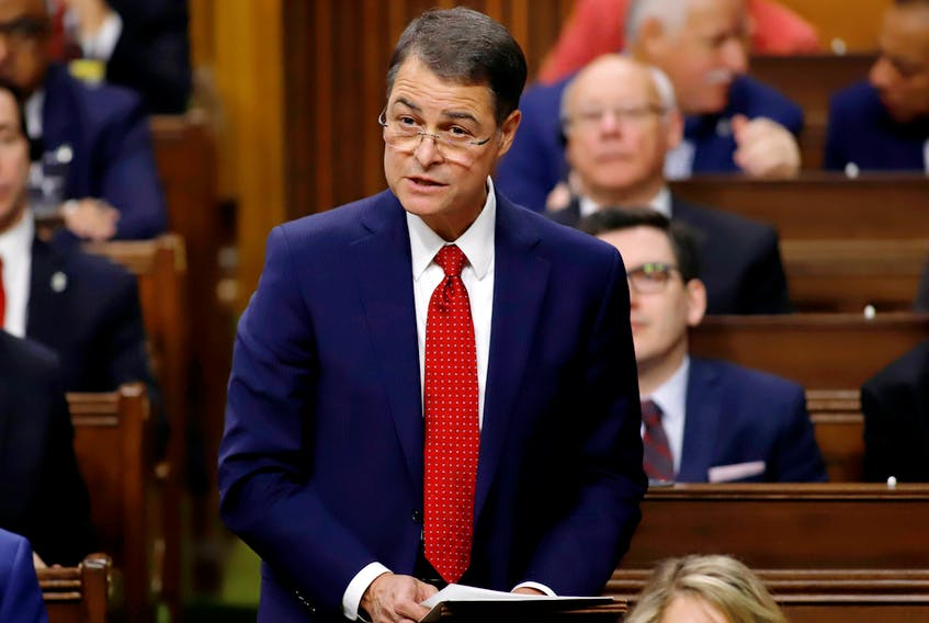 Ontario MP Anthony Rota asks MPs to elect him as Speaker of the House of Commons as Parliament prepares to resume for the first time since the federal election in Ottawa, Ont., Dec. 5, 2019.