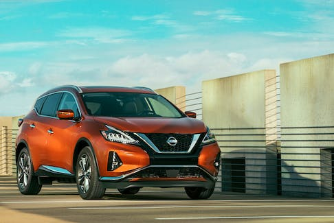 The 2020 Nissan Murano is a comfortable and attractive family hauler. It comes with an outstanding level of safety features, a proven drivetrain and, at each step on the trim ladder, luxurious touches. (Nissan)
