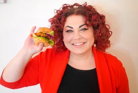Chef Ilona Daniel likes to serve her tuna fish cakes on a slider. Her recipe includes a combination of canned tuna and pumpkin puree.