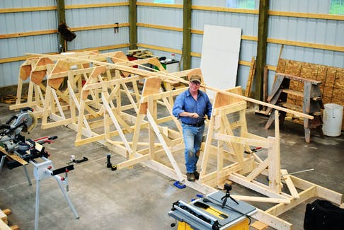 Adventurer and sailor Alan Mulholland is currently building a 21-foot (do it yourself) sailboat, with the engineering guidance of United States naval architect Andy Dize. More than 100 study plans of the design have been sold.