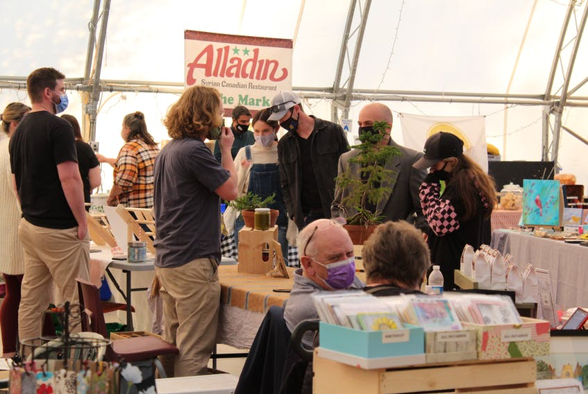 The New Glasgow Farmers Market held an extra Wednesday night market ahead of Thanksgiving.