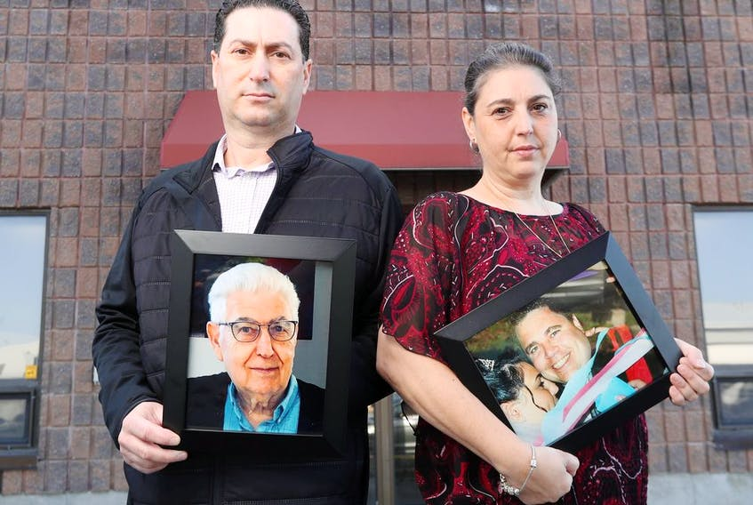 Vince Ricottilli and his sister, Angiolina Allaire, lost their dad, Luigi, in February and haven't been able to hold a funeral yet because of the pandemic. Angiolina's husband, Marc-André, also died during the pandemic.