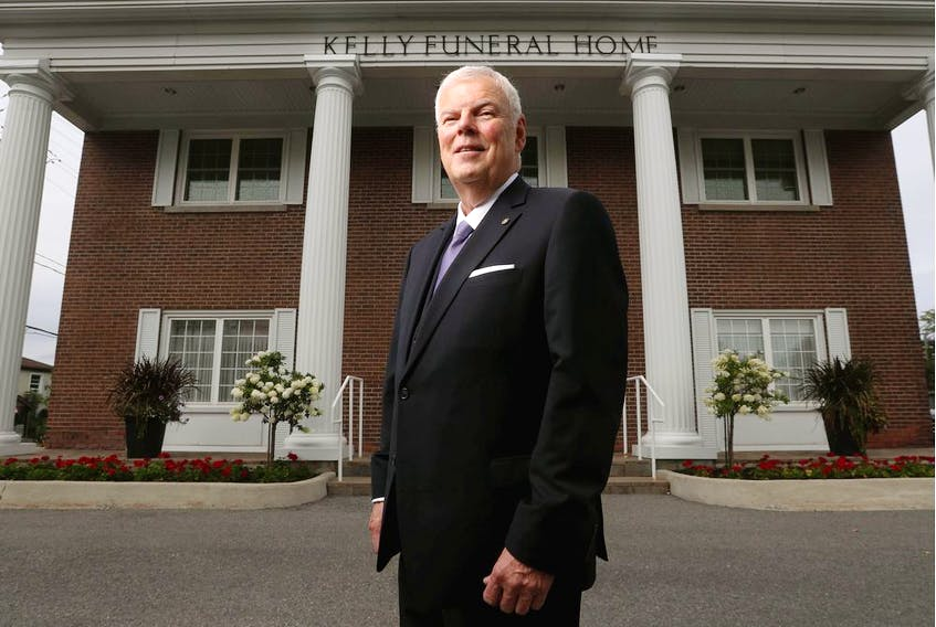 John Laframboise of Kelly Funeral Home says families are searching for a significant date on which to hold services delayed by the pandemic.