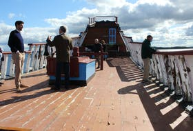 The deck of the Ship Hector.