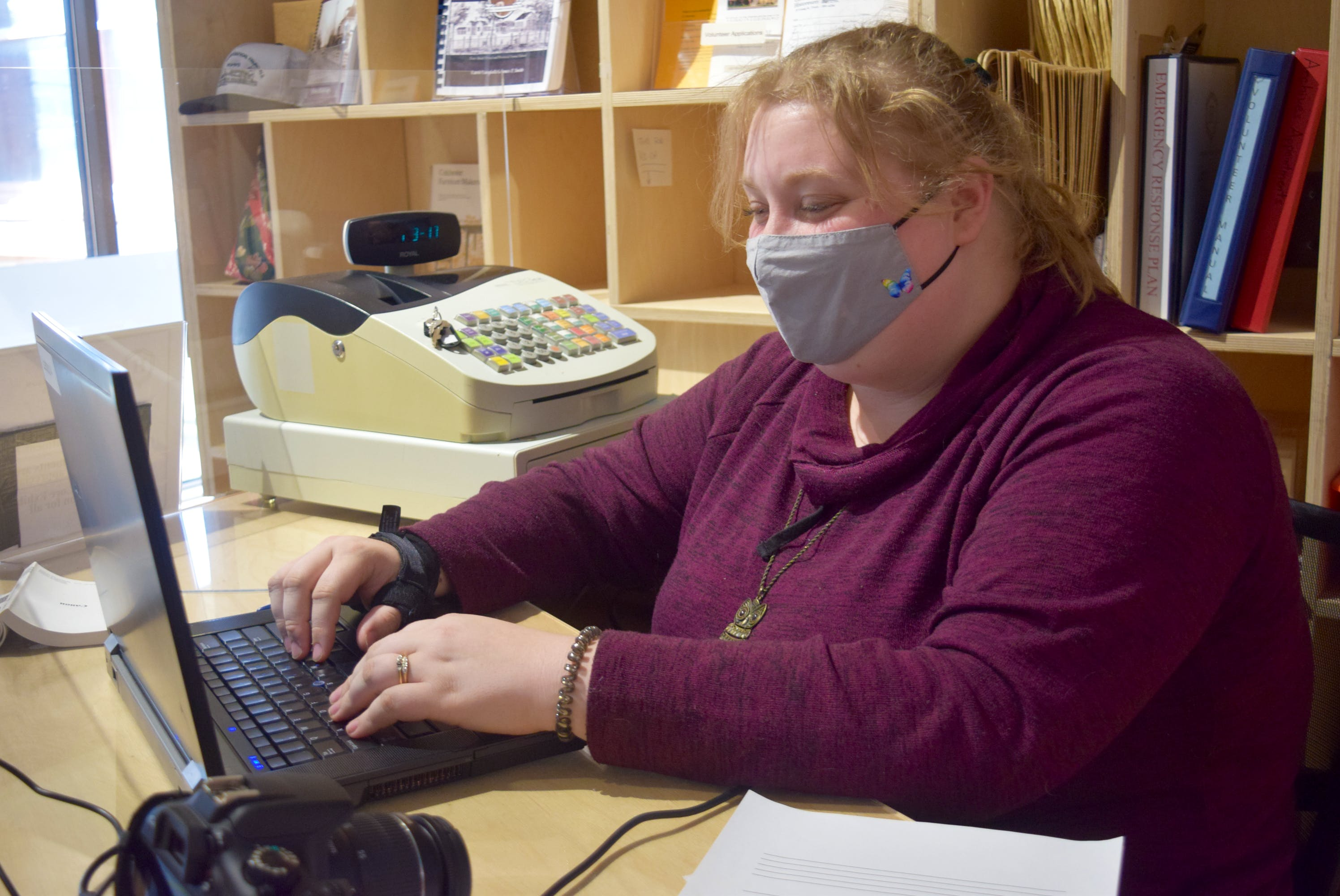 Jessica Neil is an intern with the Colchester Historeum who is working on a database of obituaries from the Truro Daily News.