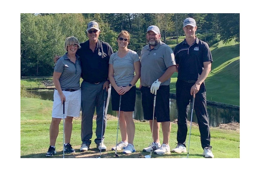 Team Scallop Shell finished the tournament in first place.  Scallop Shell (54) was made up of team members Vicki Nickerson, J.P. Bordeleau, Alison Simpson, Scott Nickerson, Fletcher Hicks. CONTRIBUTED - Saltwire network