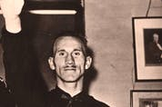 Canadian fascist leader Adrien Arcand, one of an underground of Canadian Nazi sympathizers it was von Janowski's mission to contact and organize.
