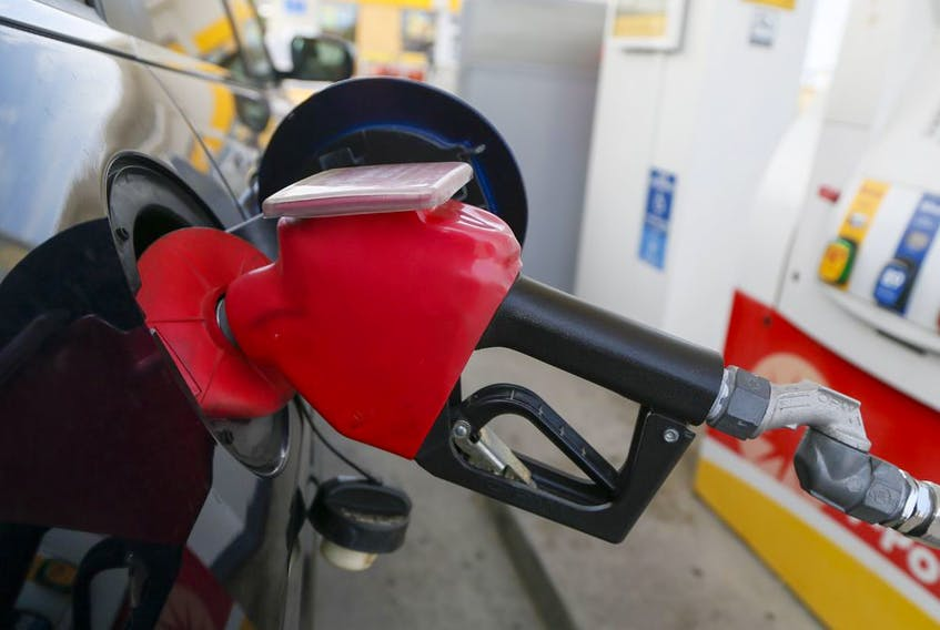 High gas prices in the GTA on Aug. 27, 2021.