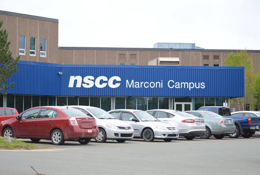 Students and staff at NSCC Marconi Campus in Sydney returned to mostly in-person learning this September and their vaccine policy started on Oct. 12. CAPE BRETON POST FILE