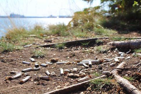 Discarded cigarette butts are a very unnecessary form of pollution.