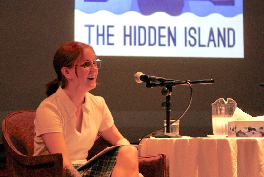 Fiona Steele hosts a launch party for The Hidden Island podcast's second season Sept. 24.