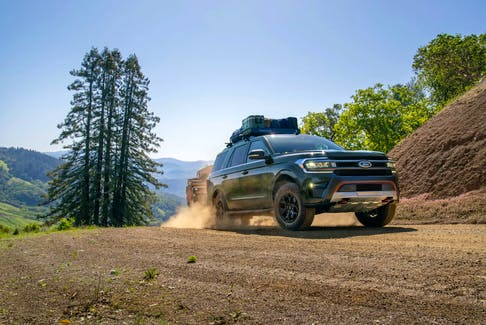 The 2022 Ford Expedition Timberline is designed with the next generation of off-roaders — Millennials — in mind. Handout/Ford