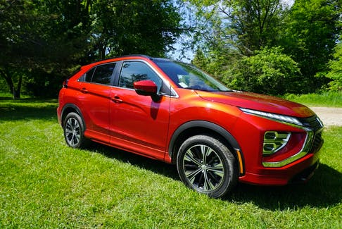 The Mitsubishi Eclipse Cross allows you to access the what3words app offline. Brian Harper/Postmedia News